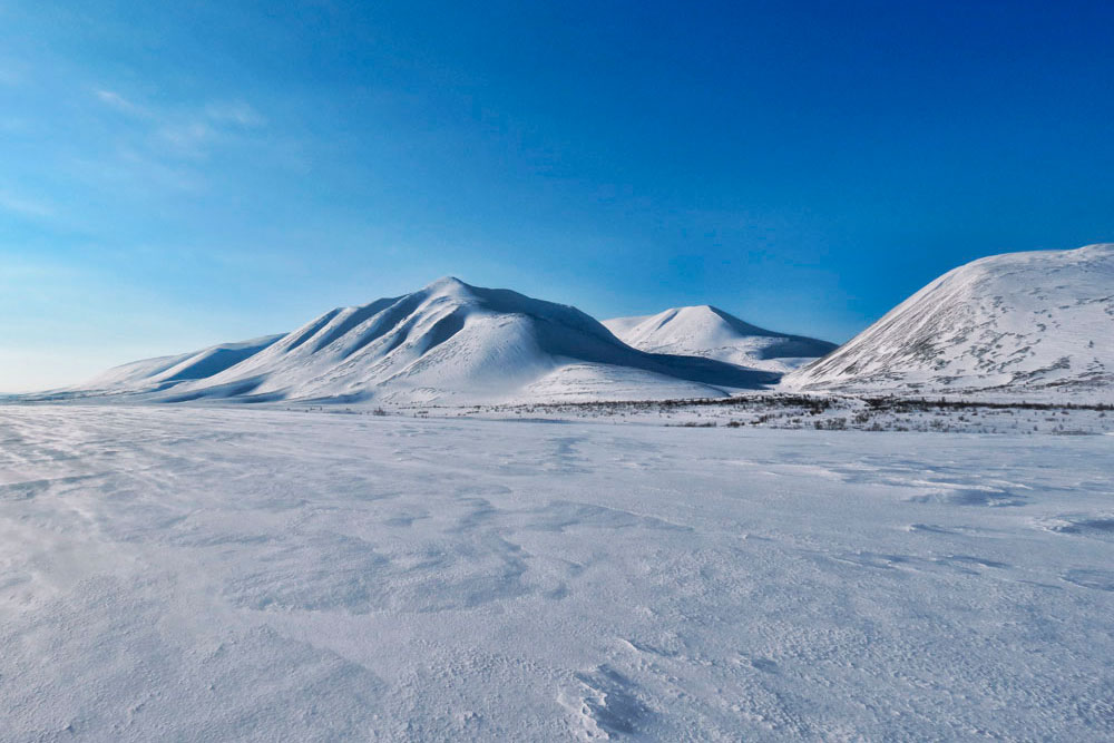 Полярный Урал возле Воркуты