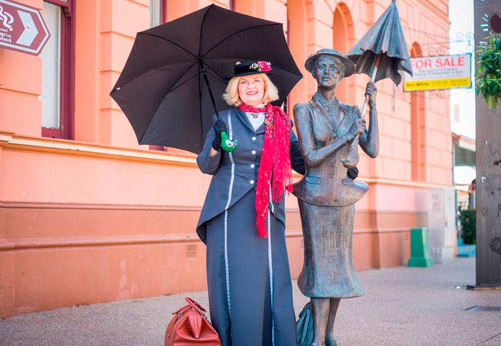 Памятник Мэри Поппинс