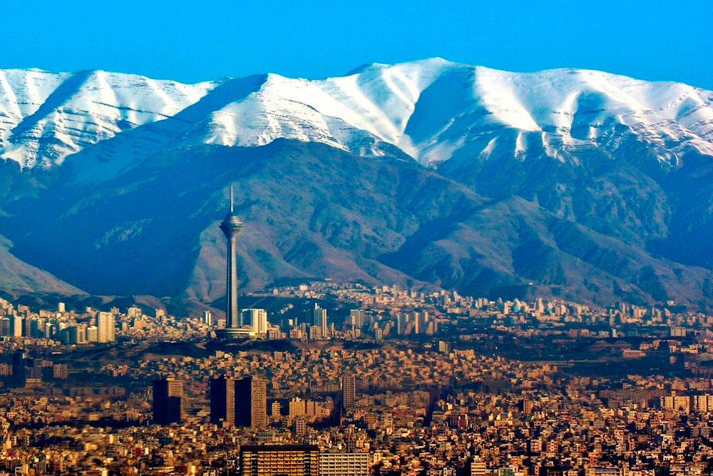Панорама Тегерана