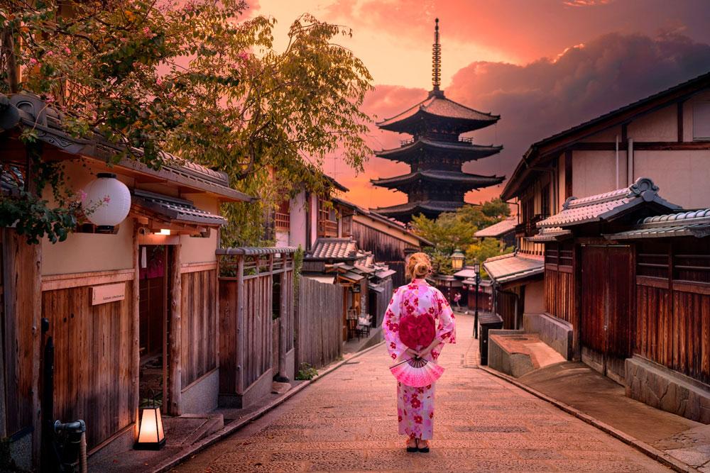 Пагода Годзюто, Киото, Япония