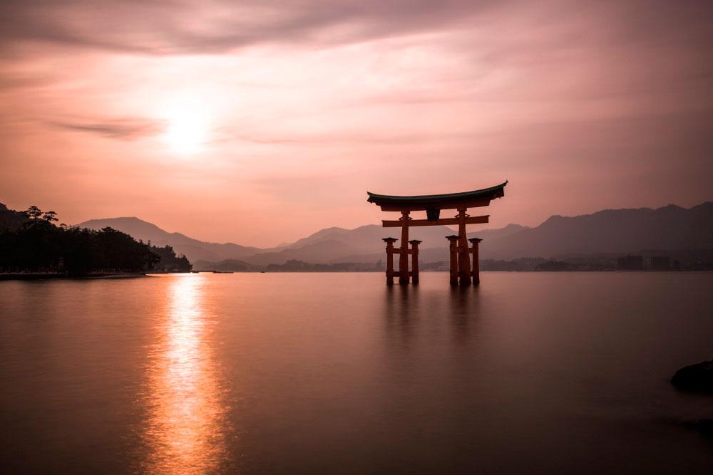 Япония. Ворота Тории, Хиросима