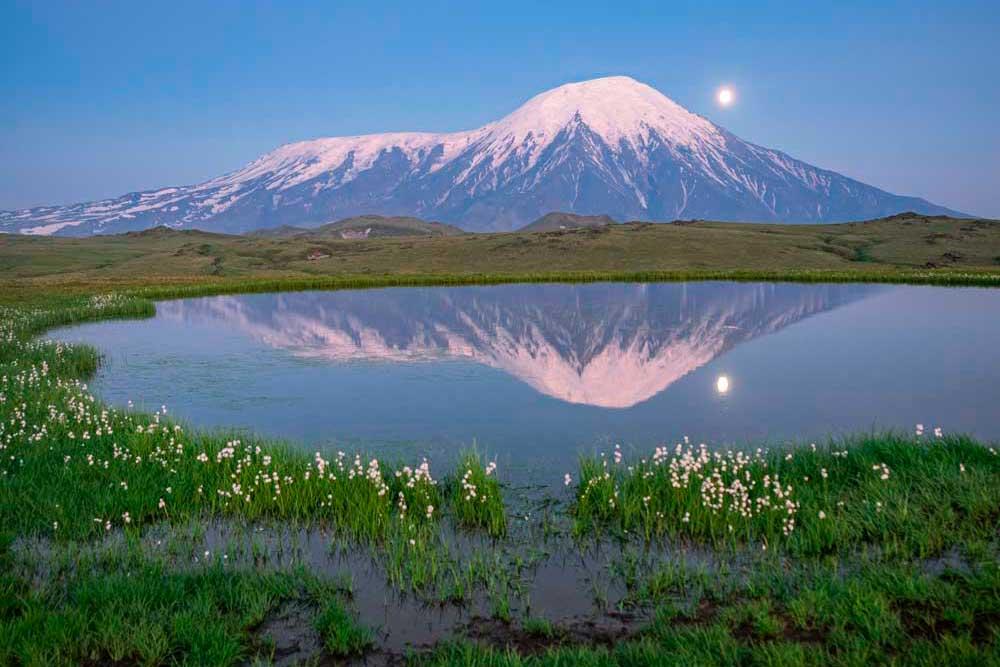 Volcano Plosky Tolbachik