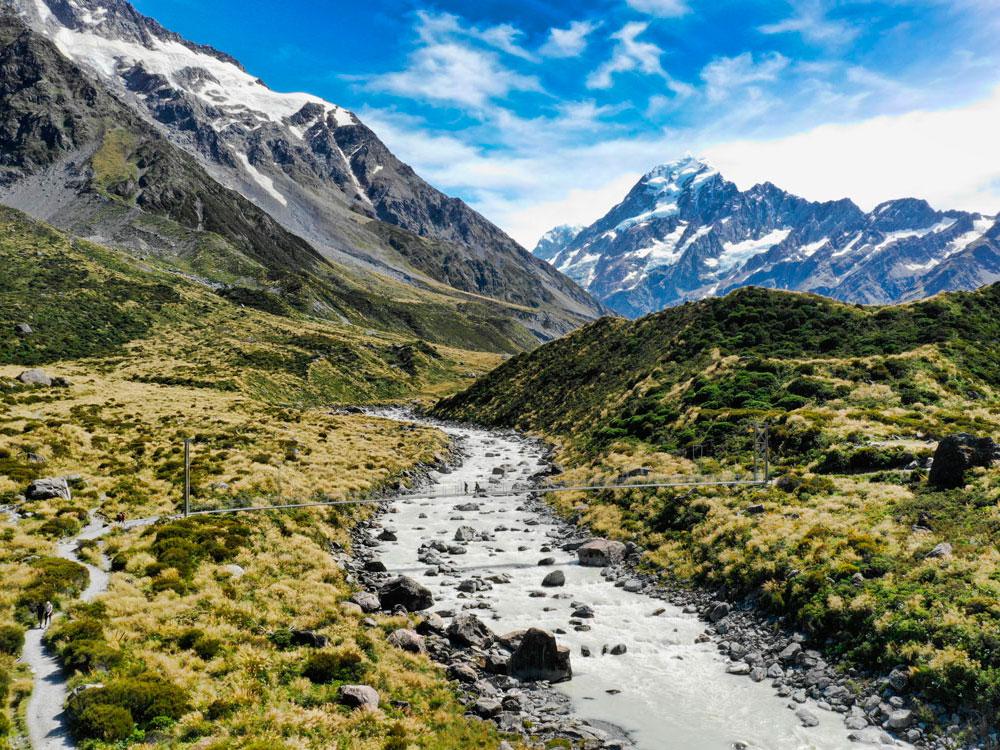 Новая Зеландия. Национальный парк Aoraki/Mount Cook