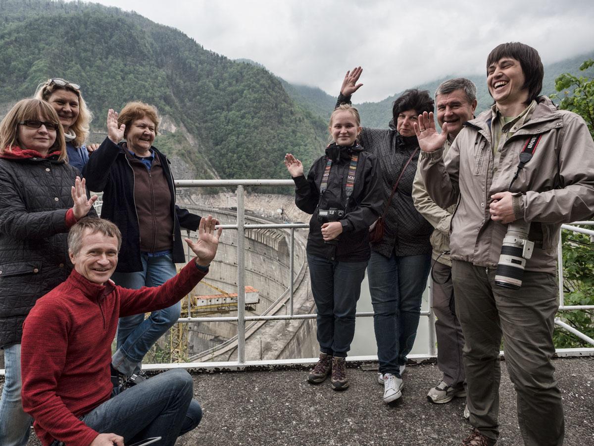Тур в Грузию с Андросовым