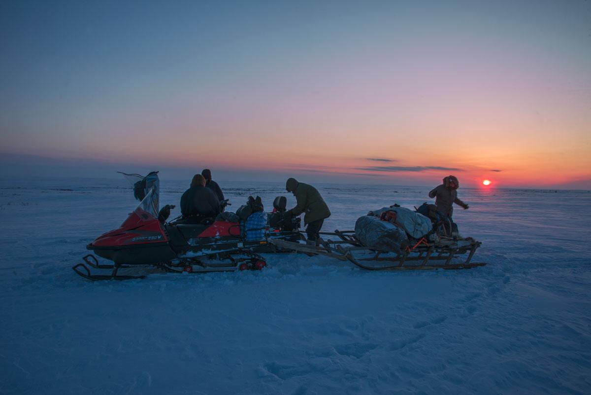 Арктическая экспедиция, Пым Ва Шор