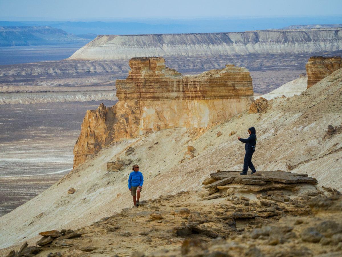 Устюртское плато, Западный Казахстан