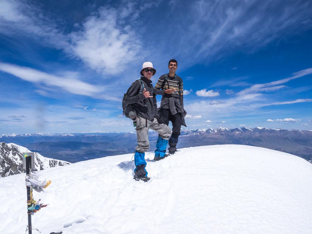 Вершина горы Юбилейная, Алтай