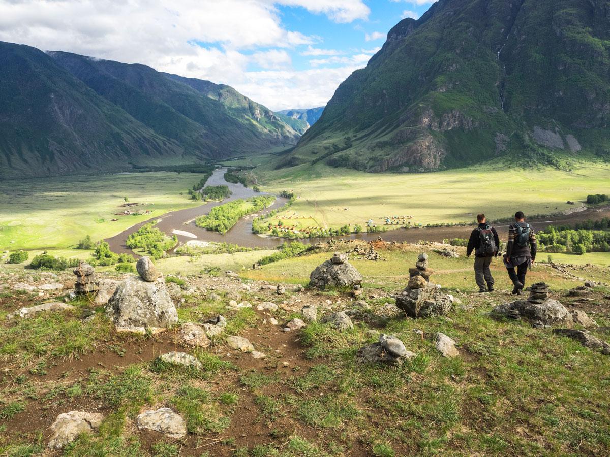 Долина реки Чулышман, Алтай