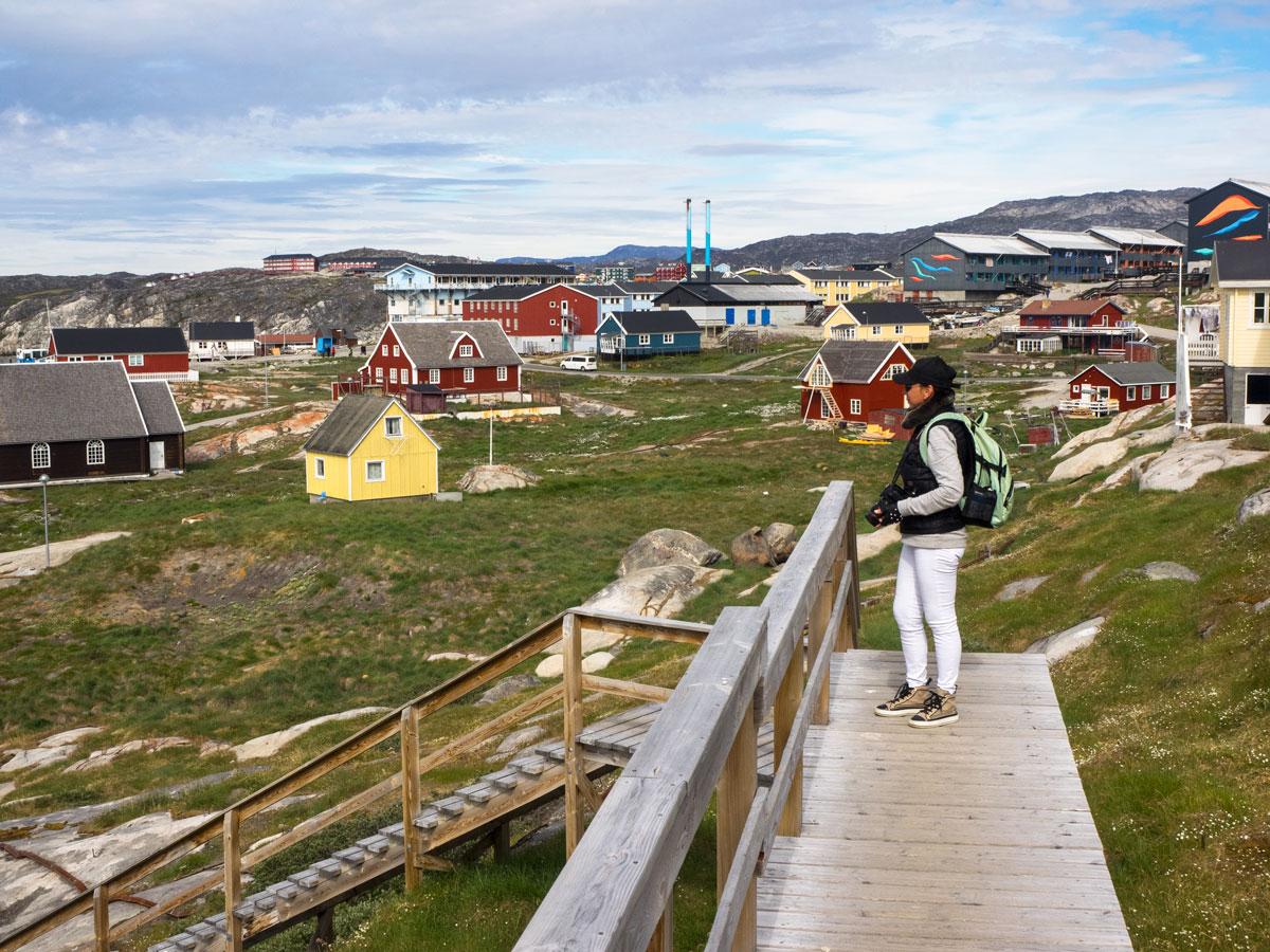 Город Илулиссат, Гренландия