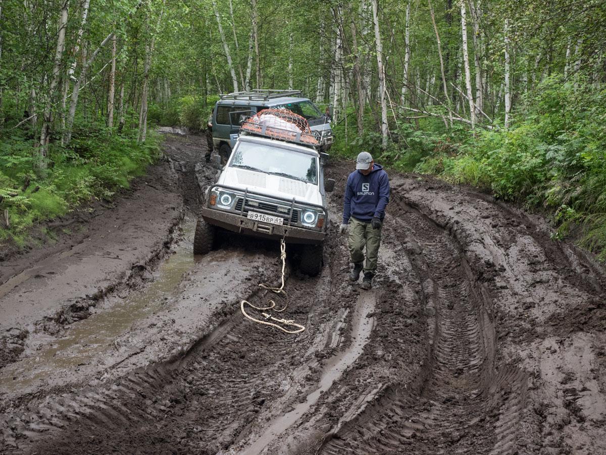 Приключения на дорогах Камчатки
