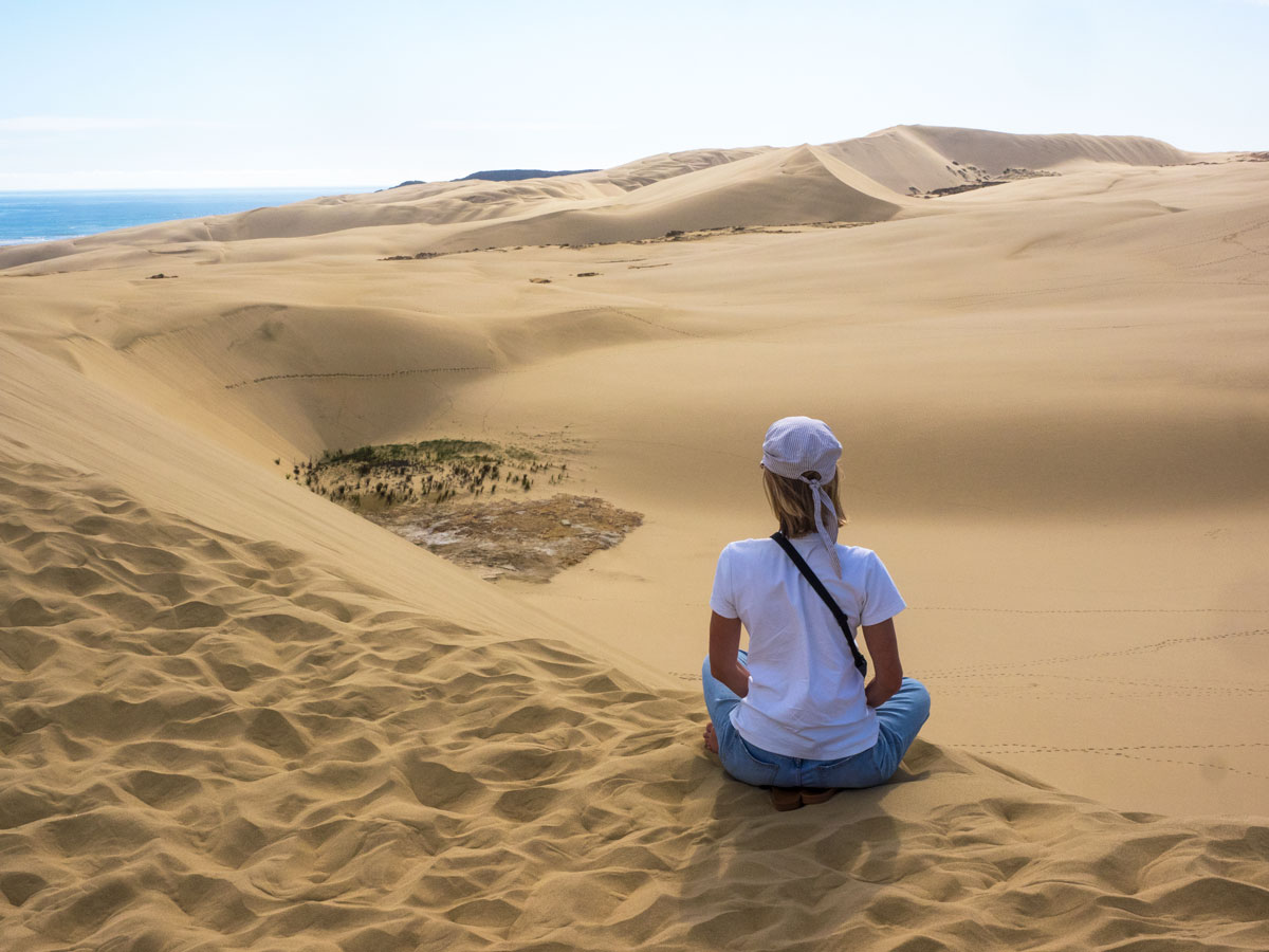 Песчаные дюны, Новая Зеландия