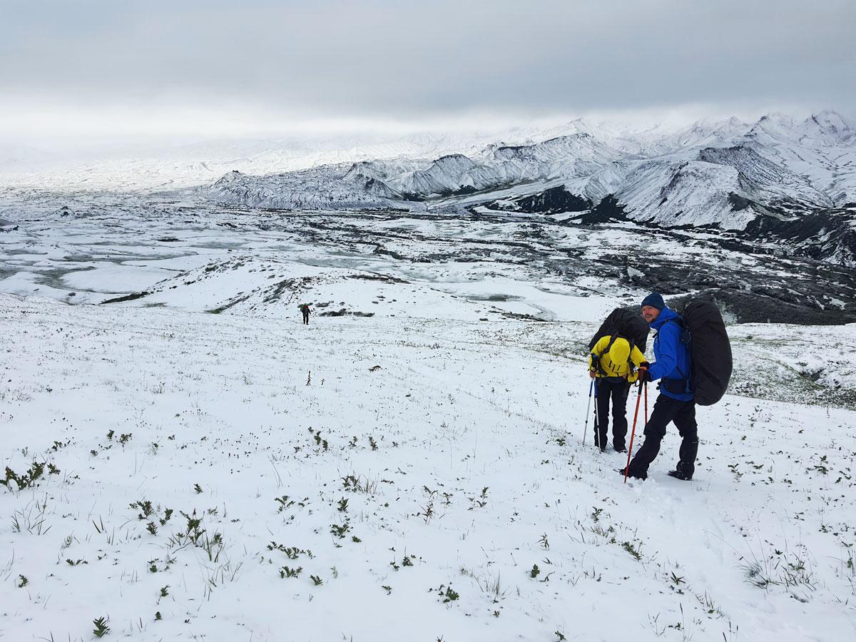 Hike around Tolbachik with Evgeny Androsov