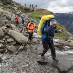 Тур в Норвегию. Нелегкие походные будни