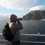Тур в Норвегию. Паром на Лофотенские острова