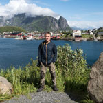 Tour to Norway. The Lofoten. Reine village