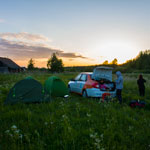 Auto tour All the charm of the north and white nights. Overnight in Karelia, near Lake Onega