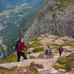 Авто походный тур Вся Скандинавия-2018. Восхождение на Кьераг