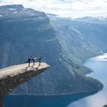 Авто походный тур Вся Скандинавия-2018. Язык Тролля