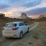 Auto photo tour to Ustyurt plateau, Western Kazakhstan