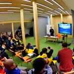 Творческая встреча в рамках фестиваля Большой Аргиш в Норильске