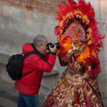 Photo tour at the Venetian Carnival