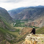 Adventure tour of the Altai Mountains. Pass Katu-Yaryk