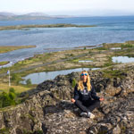 Auto tour around Iceland-2019. Thingvellir National Park