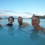 Auto tour around Iceland-2019. Russian-Japanese friendship in the Blue Lagoon