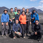 Great Kamchatka trip. Our super international (7 countries!) super group in the Dead Forest