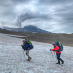 Kamchatka Climbing volcanoes Mutnovsky and Gorely