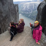 Travel to Norway. Near Kjerag