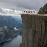 Travel to Norway. Preikestolen