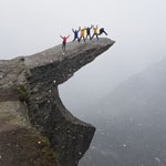Travel to Norway. On Trolltunga